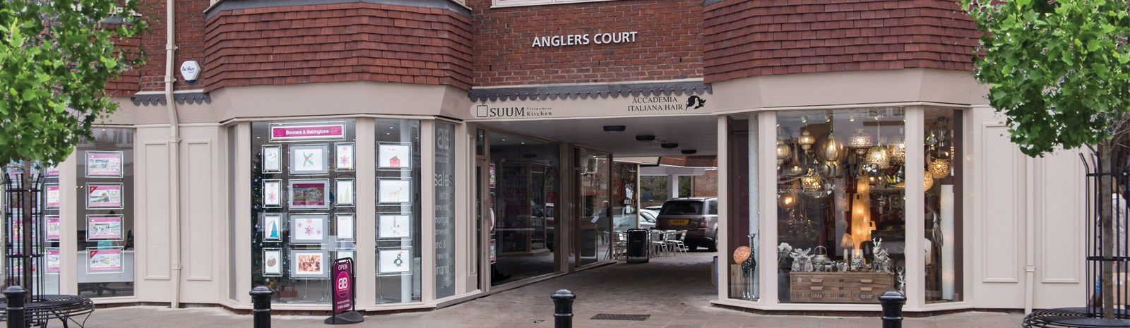 Anglers Court, Marlow